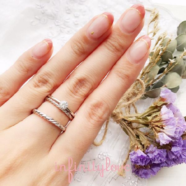銀座の結婚指輪婚約指輪マリッジリングエンゲージリング